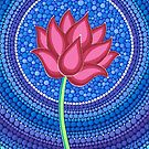 Splendid Lotus Flower by Elspeth McLean