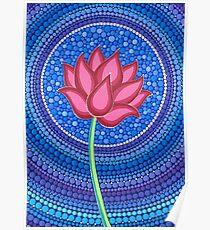 Splendid Lotus Flower Poster