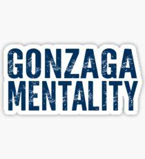 Gonzaga Mentality Sticker