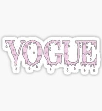 Vogue Dripping Sticker