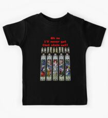 Oh no - I'll never get that stain out! (Red print) Kids Tee