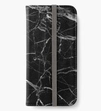 BLACK MARBLE iPhone Wallet/Case/Skin