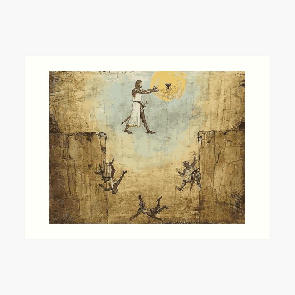 Jump of faith Art Print