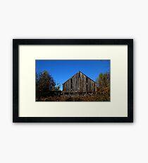 0127 - HDR Panorama - Old Barn 2 Framed Print