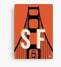 This is San Francisco Canvas Print