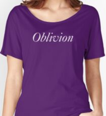 Oblivion in white Women's Relaxed Fit T-Shirt