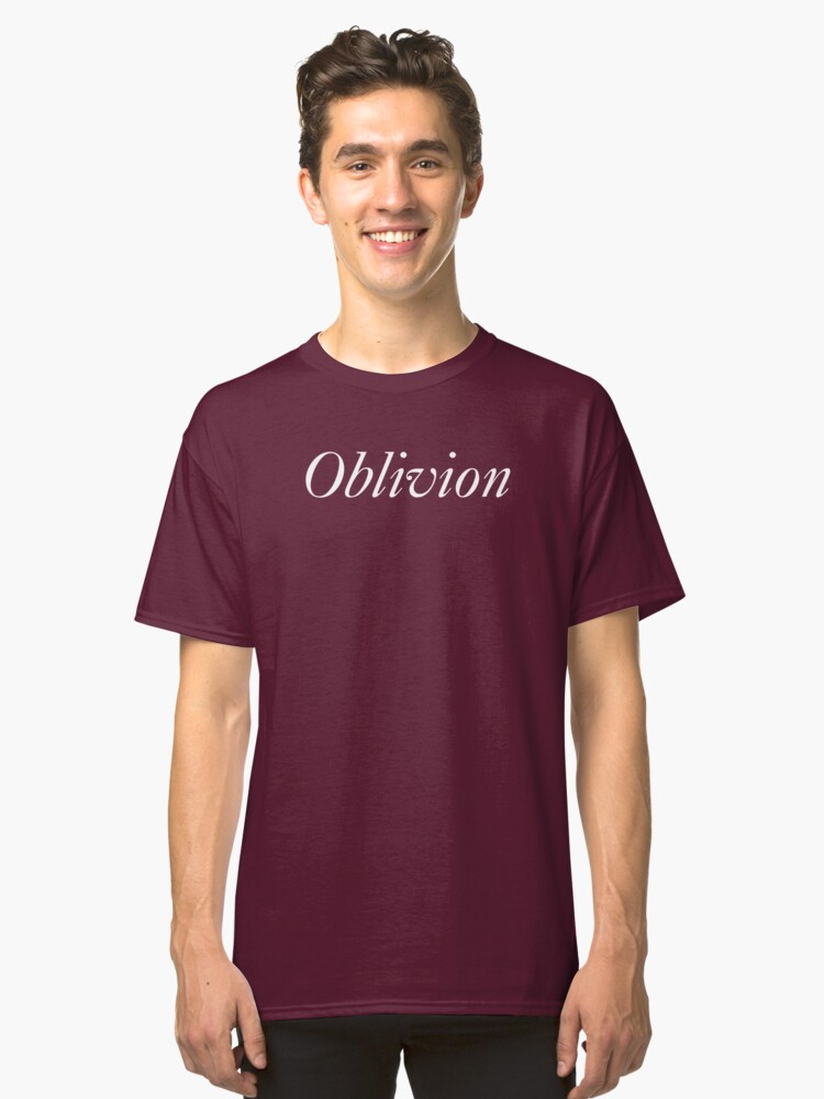 Oblivion in white Classic T-Shirt Front