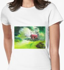 Dream House 3 Womens Fitted T-Shirt