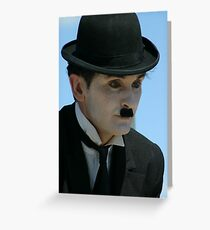 CHAPLIN.... Greeting Card