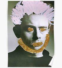 Warhol Inspired James Dean Poster