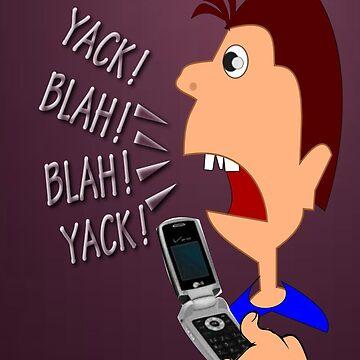 Yack Yack!  I phone case (4206 Views) by aldona