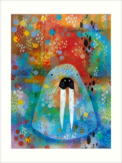 I Am the Walrus by Madara Mason