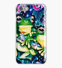 two frogs iPhone Case/Skin