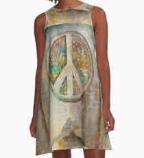 peace A-Line Dress