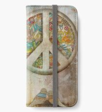 peace iPhone Wallet/Case/Skin
