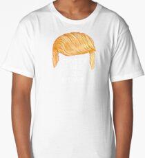 Trump Talking Hair: Fox News Long T-Shirt