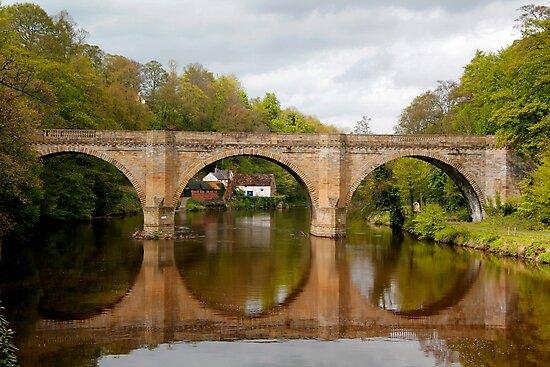Prebends Bridge Reflection by John Wallace