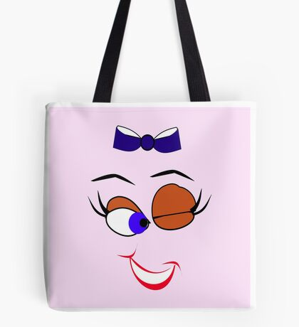 Face  :-Wink (5852 Views) Tote Bag
