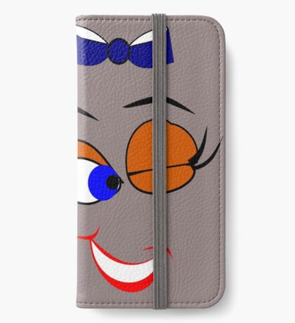 Face  :-Wink (5878 Views) iPhone Wallet