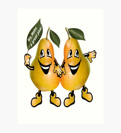 pear Sticker ( 105 Views) Art Print