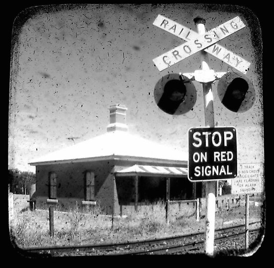 Stop on Red - Through The Viewfinder (TTV) by Kitsmumma
