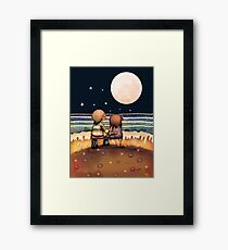 the stars, the moon and the tide Framed Print