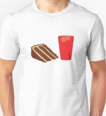 Peanut Butter Chocolate Cake with Kool-Aid {isolated} T-Shirt