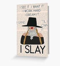 Beyonce artwork Greeting Card
