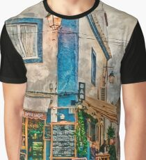 The Albar in Alvor, Portugal Graphic T-Shirt