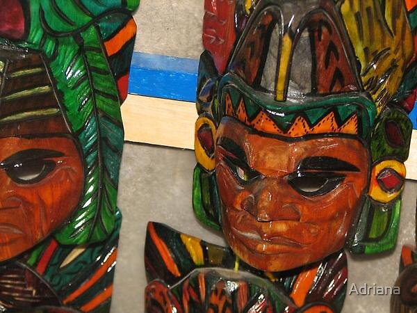 Antigua Mask by Adriana