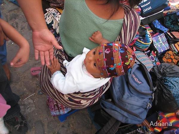 Little Antigua baby. by Adriana
