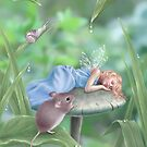 Sweet Dreams Sleeping Fairy & Mouse by Rachel Anderson