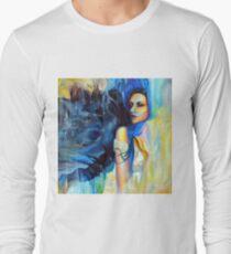 Timeless Wonder Through The Air, 100-100cm, 2017, oil on canvas T-Shirt