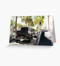 Mercedes 6x6 Greeting Card
