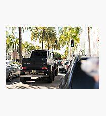 Mercedes 6x6 Photographic Print