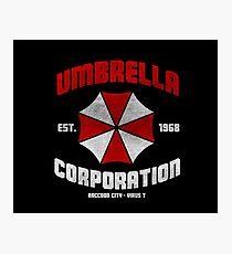 Umbrella corp Photographic Print