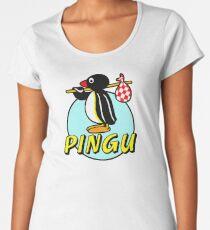 my friend pingu desktop toy Women's Premium T-Shirt