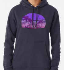 Synthwave - Miami FM-77 Pullover Hoodie