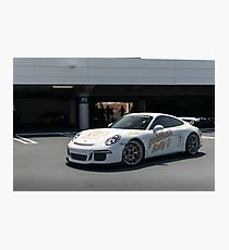 Goldrush Porsche GT3 Photographic Print