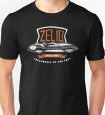 Zelio Black Unisex T-Shirt