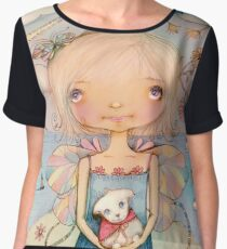 Mary's Little Lamb Women's Chiffon Top