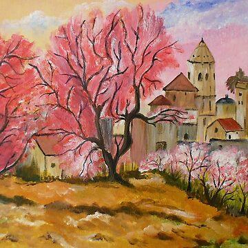 Cherry blossom on Majorca by RosiLorz