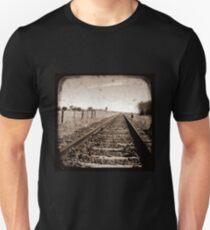 Make Tracks - Through The Viewfinder (TTV) Unisex T-Shirt