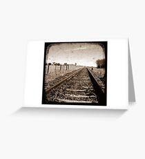 Make Tracks - Through The Viewfinder (TTV) Greeting Card