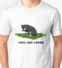 100 % Cat Lover 2  Unisex T-Shirt