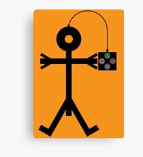 Video Gaming Icon Canvas Print