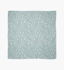 Baby's Breath Flower Pattern - Grey Green Scarf