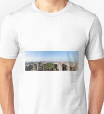 Camiseta unisex Aerial view of Manhattan, New York City, NY USA