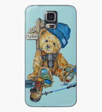 Hill Walking Teddy Bear Case/Skin for Samsung Galaxy