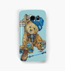 Hill Walking Teddy Bear Samsung Galaxy Case/Skin